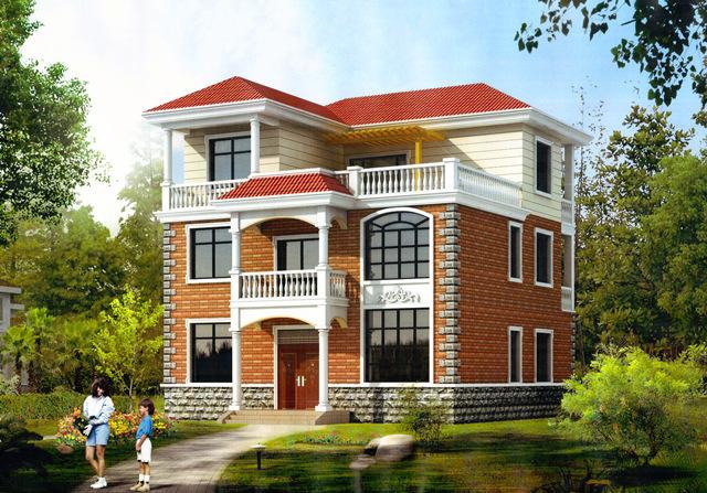 120平经济型 别墅 二层