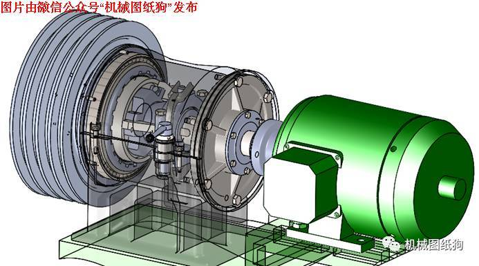 【工程机械】multidisk离合器模型3d图纸 solidworks设计