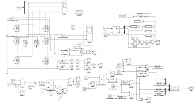 科技 正文  下面分享一下我最开始做的 simulink 仿真程序框图和输出图片