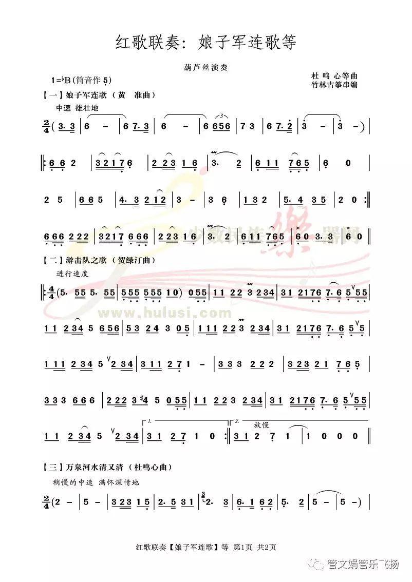 【葫芦丝曲欣赏】红歌联奏系列六:《娘子军连歌等》个人所得税软件操作说明图片