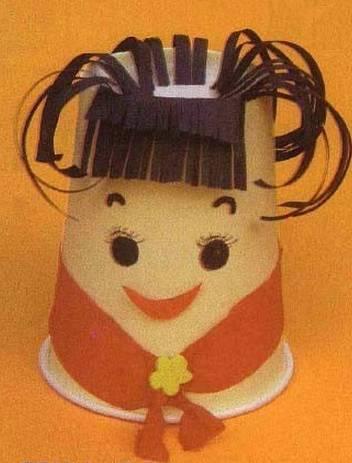 通过制作中国娃娃, 可以加深幼儿对我们黄种人种族特点的认识,提高