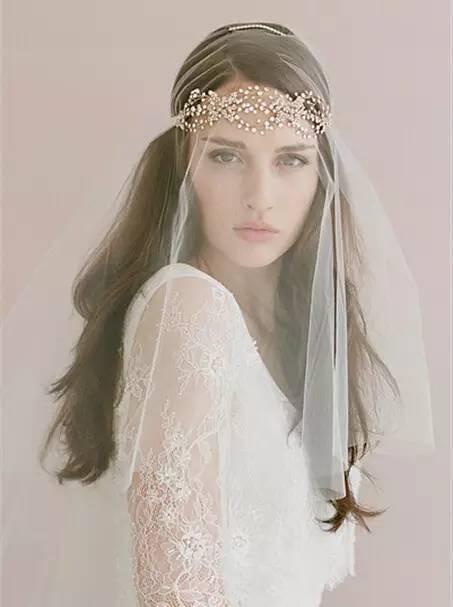 新娘头纱戴法小技巧 你get了吗?图片