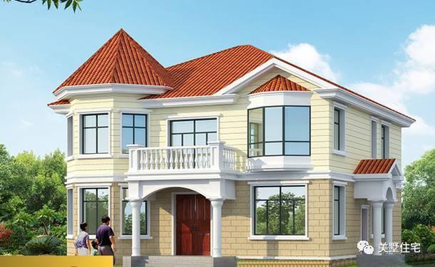 其它 正文  别墅特点: 1,简约欧式风格,左边采用锥形设计,一二楼墙面