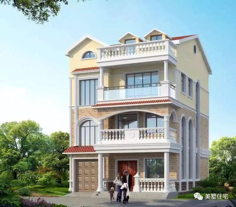 这套4层农村别墅,光平面布局方案就花了15天时间,设计
