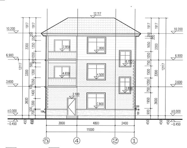 农村120平三层房子设计图,完美到无法挑剔!