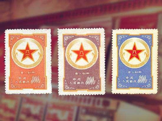 邮票当兵时候写的信上面的初中v邮票军人却有班主任推荐信爷爷图片