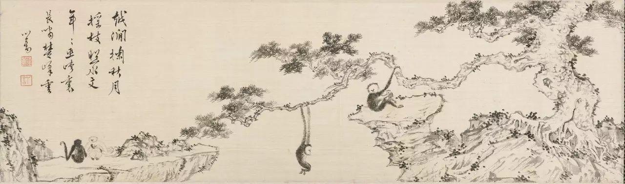 海外知名藏家旧藏张大千,溥儒精品书画现身旧金山拍卖!图片