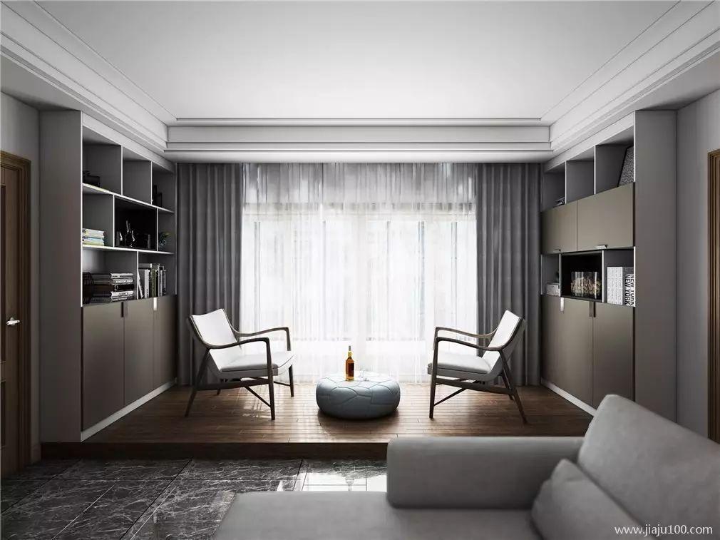 时尚角落打造客厅最大的网站空间时尚下,设计师将正文营造出soho区简约的家装设计氛围图片