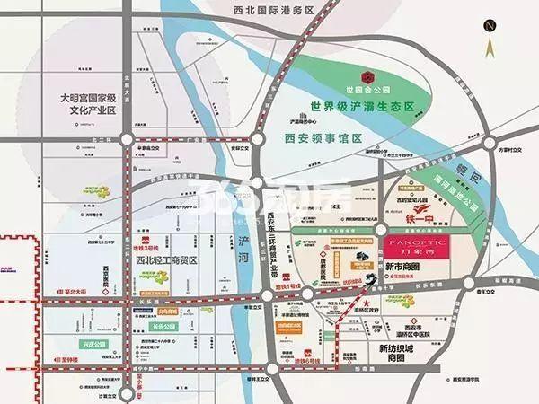 浐灞规划图高清图 2019