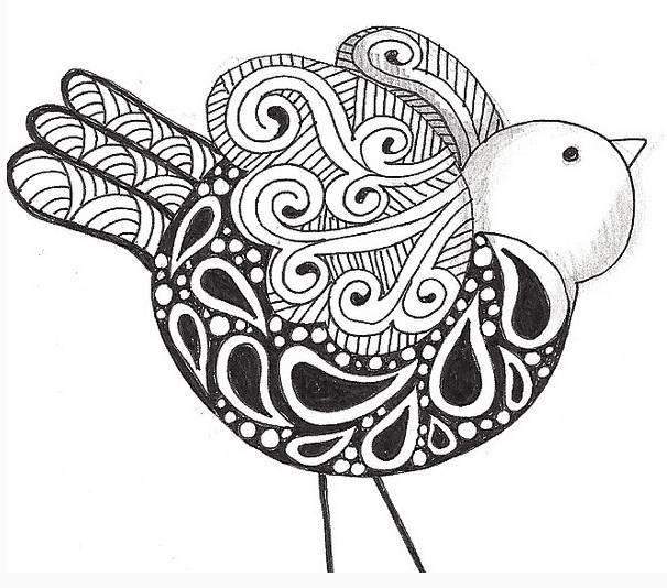【向艺葵app】直播公开课    易延好——鲸鱼装饰线描图片