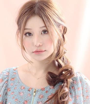 韩式发型扎法图片 上班约会零压力
