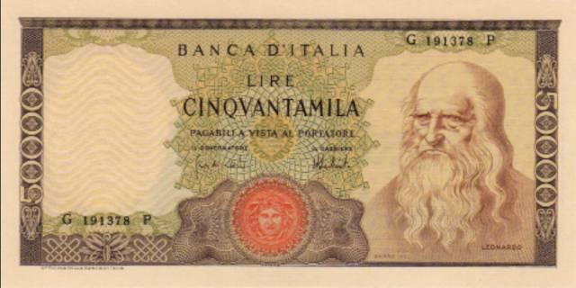 印有世界名画的纸币