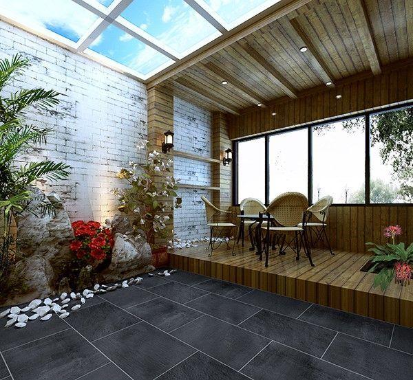 阳光案例:花园别墅阳光房v阳光错过房网展示你效果的别墅堰三道中式图片