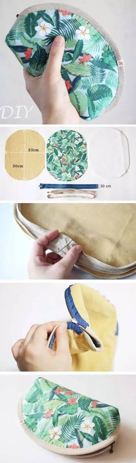 家有的旧衣服剪开做几个包包来用吧,既好看又省钱!