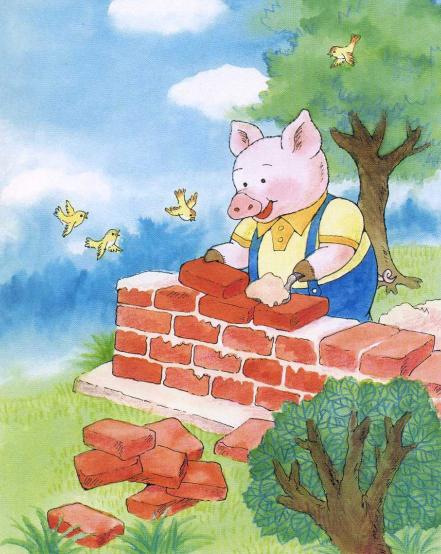 绘本故事|三只小猪图片