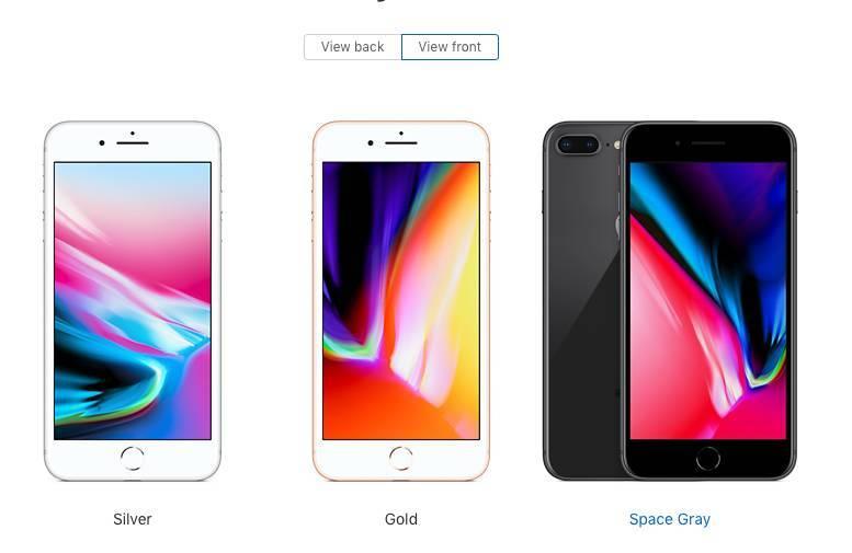 苹果8预售手绘图