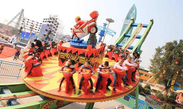 好玩到飞起!过山车、海盗船、摩天轮···19.9元玩转圣名环球城游乐园!
