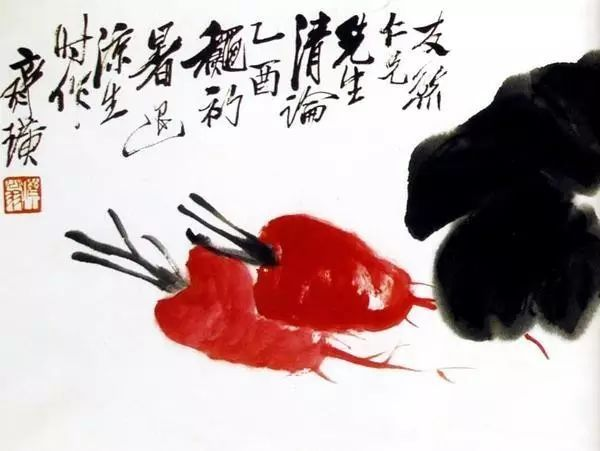 齐白石画虾一绝,但其他画也不弱!150幅齐白石作品欣赏