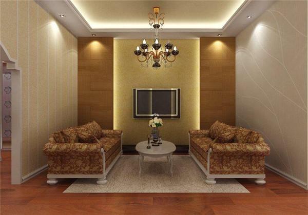 拥有时尚大气的硅藻泥电视背景墙可以提升整个客厅的装修气质,集中