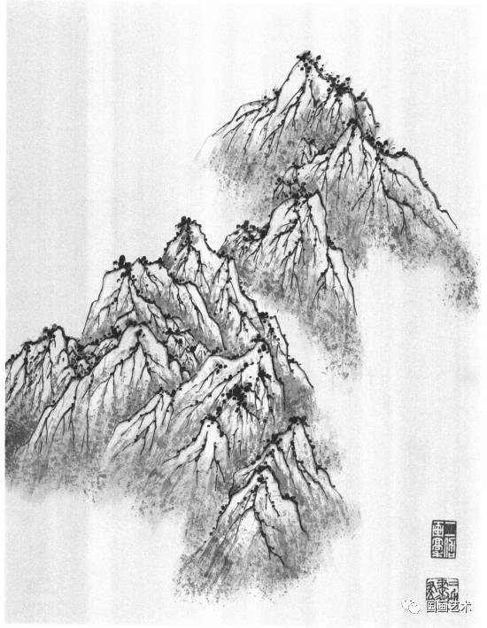 图文教程:山水画基础技法(5)图片