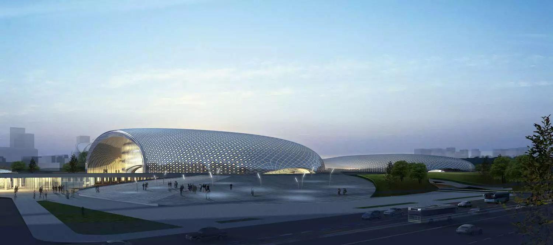 杭州体育馆_杭州市奥体中心主体育馆和游泳馆项目