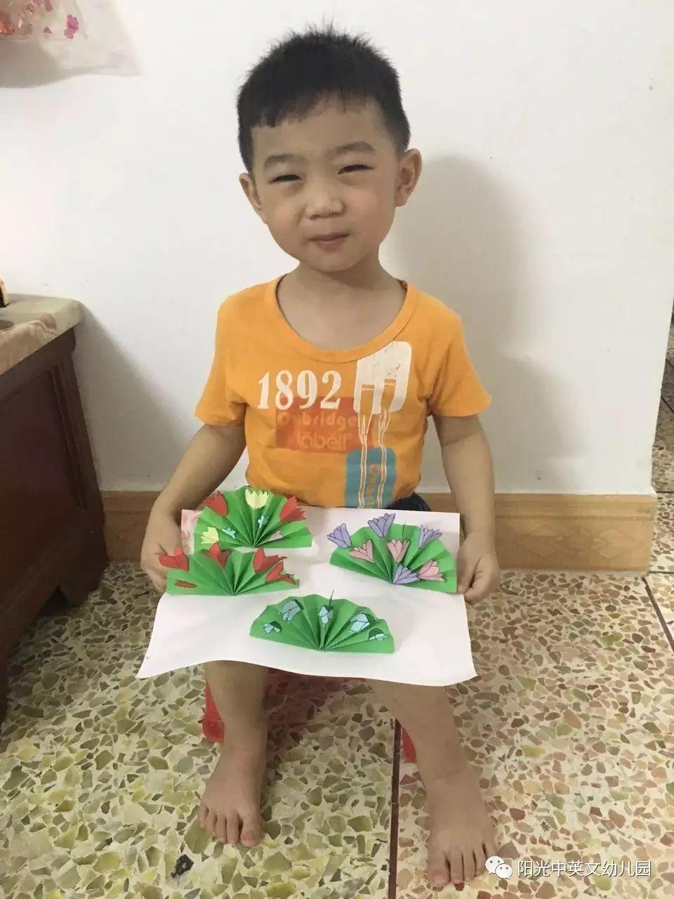 """教师节""""颂师恩""""手工制作展示——阳光中英文幼儿园(新"""