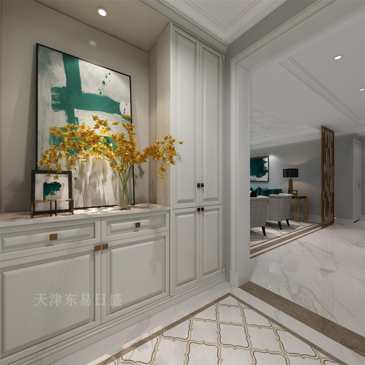 140平轻奢美式风格三室装修,精致,优雅,时尚奢华!图片