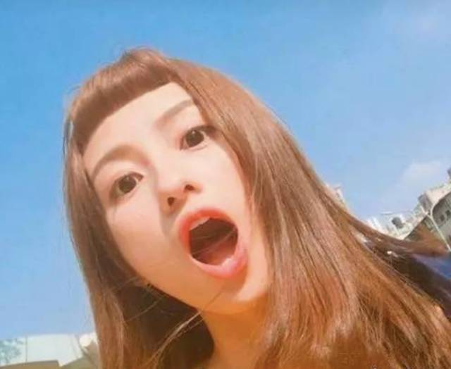 二次元刘海适合这些发型图片