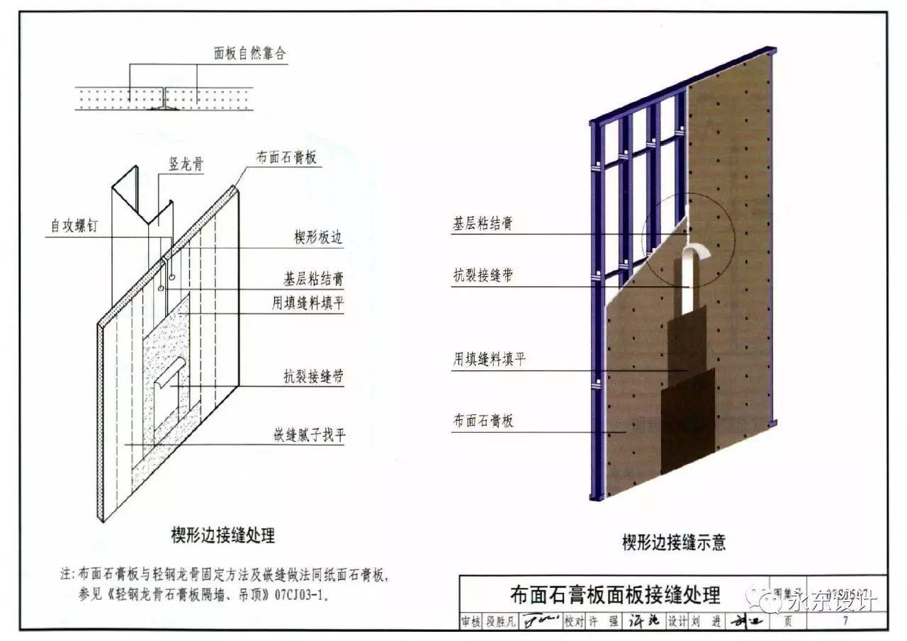 过道吊顶cad平面图_轻钢龙骨石膏板墙剖面图_平面设计图
