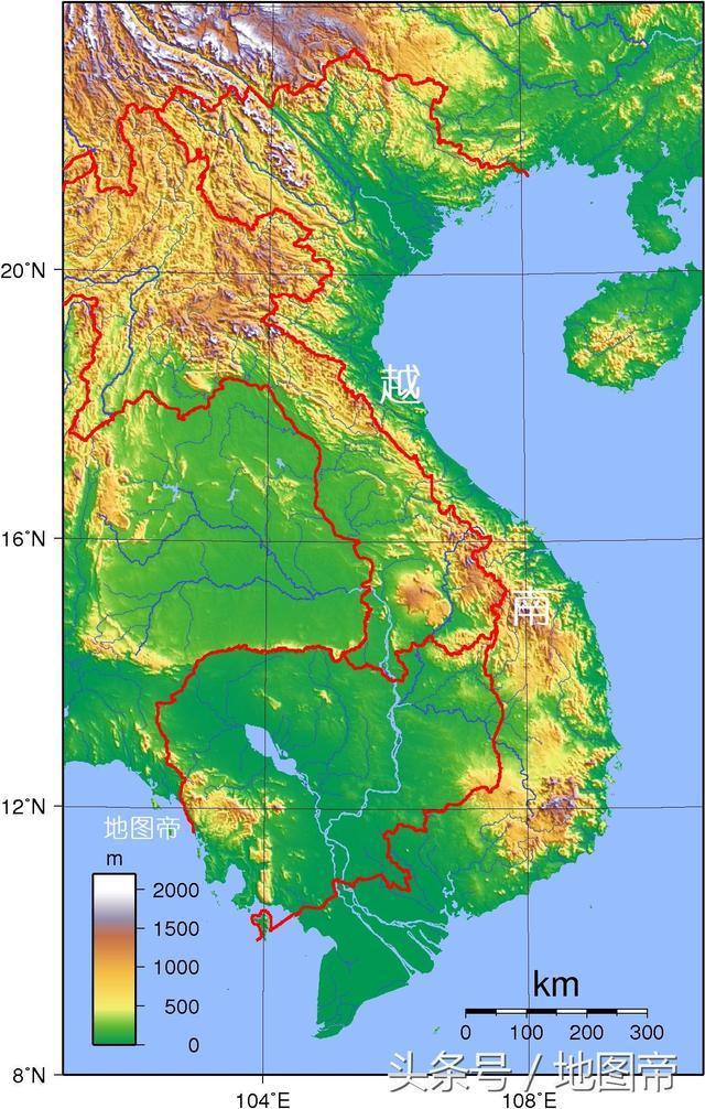 正文  越南,位于中国以南,按顺时针方向,北部是中国的云南省和广西省