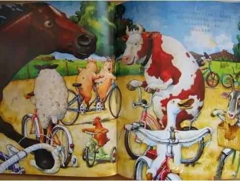 《鸭子骑车记》绘本解析 介绍-第14张图片-58绘本网-专注儿童绘本批发销售。