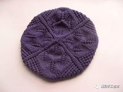 五根针贝雷帽的织法图解