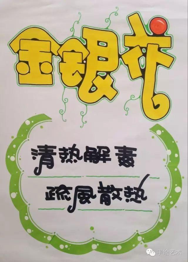 【手绘pop手绘教程】滋补类的商品海报,治疗高血脂的药方pop应该这样