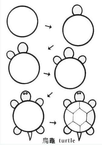 幼儿园简笔画教程大全,一看就会!