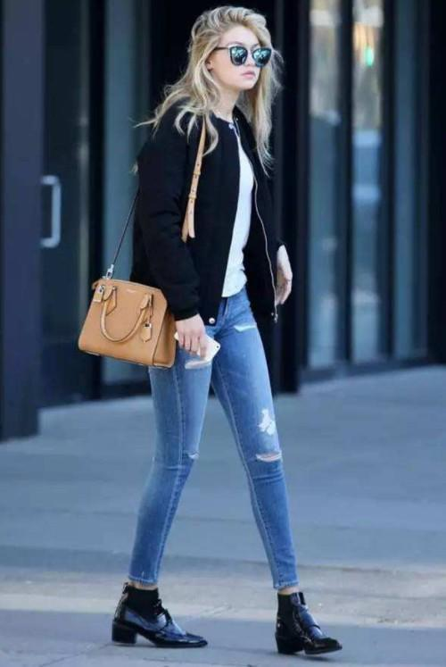 美丽不冻人 牛仔裤跟这些鞋更适合秋天