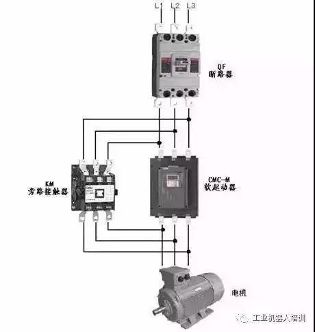 但要注意这种接线led面板起动操作无效.