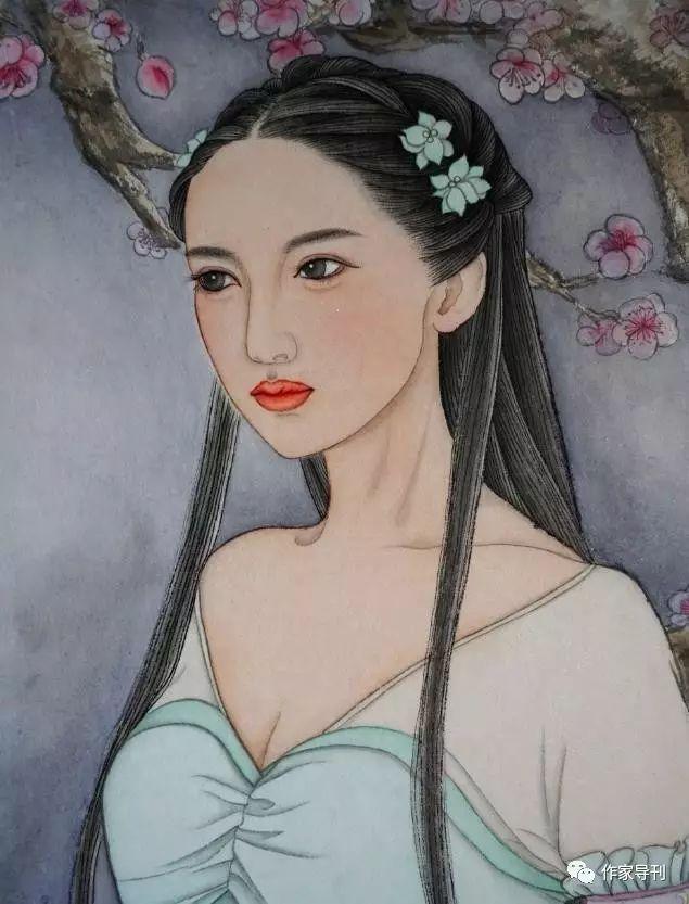 诗画讲述:民国女子之美