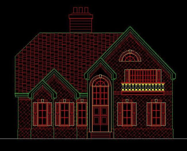 5套价值上万的两层别墅设计图!赶快收藏