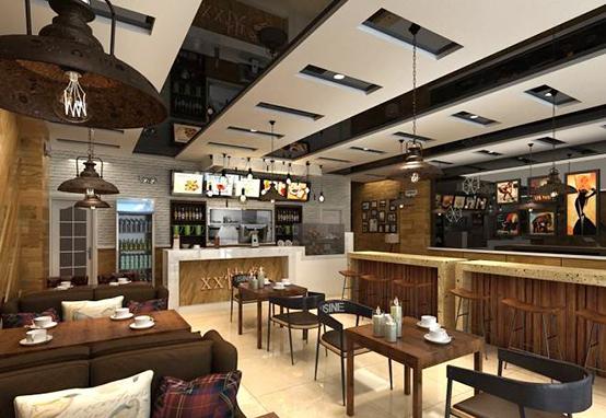 餐馆饭店后厨的天花板图片