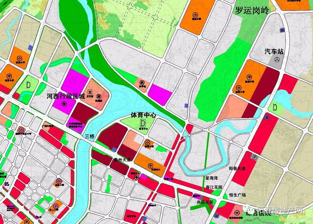 阳春城市规划图