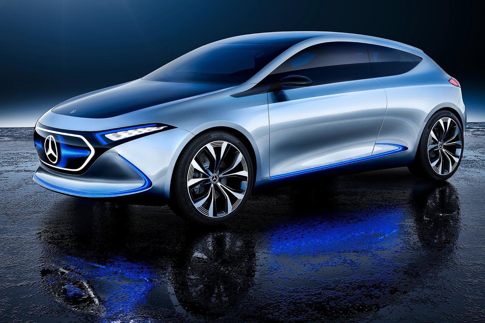 奔驰即将投产这款纯电动车 我们认为它比 Model 3 更值得等