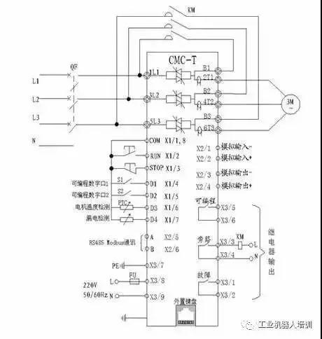 但要注意这种接线lcd面板起动操作无效.