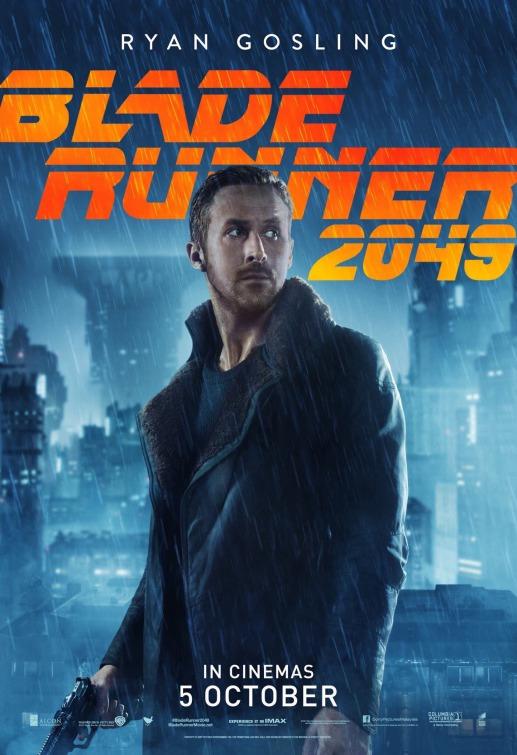 《银翼杀手2049》曝海量角色海报 全阵容亮相
