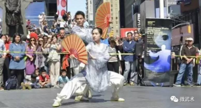 中国武坛绝代双骄李连杰、赵长军赴美宣传推广中华武术