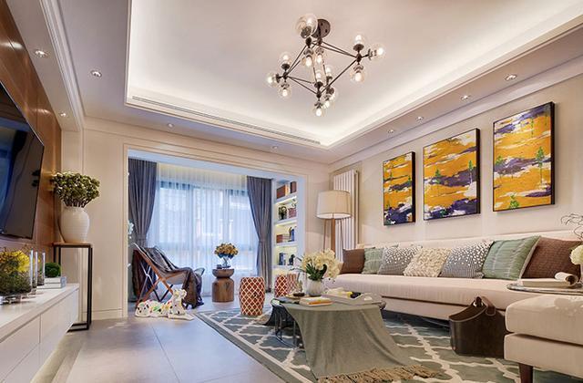 成都新津家装公司推荐 成都小户型现代简约新房装修设计案例图片