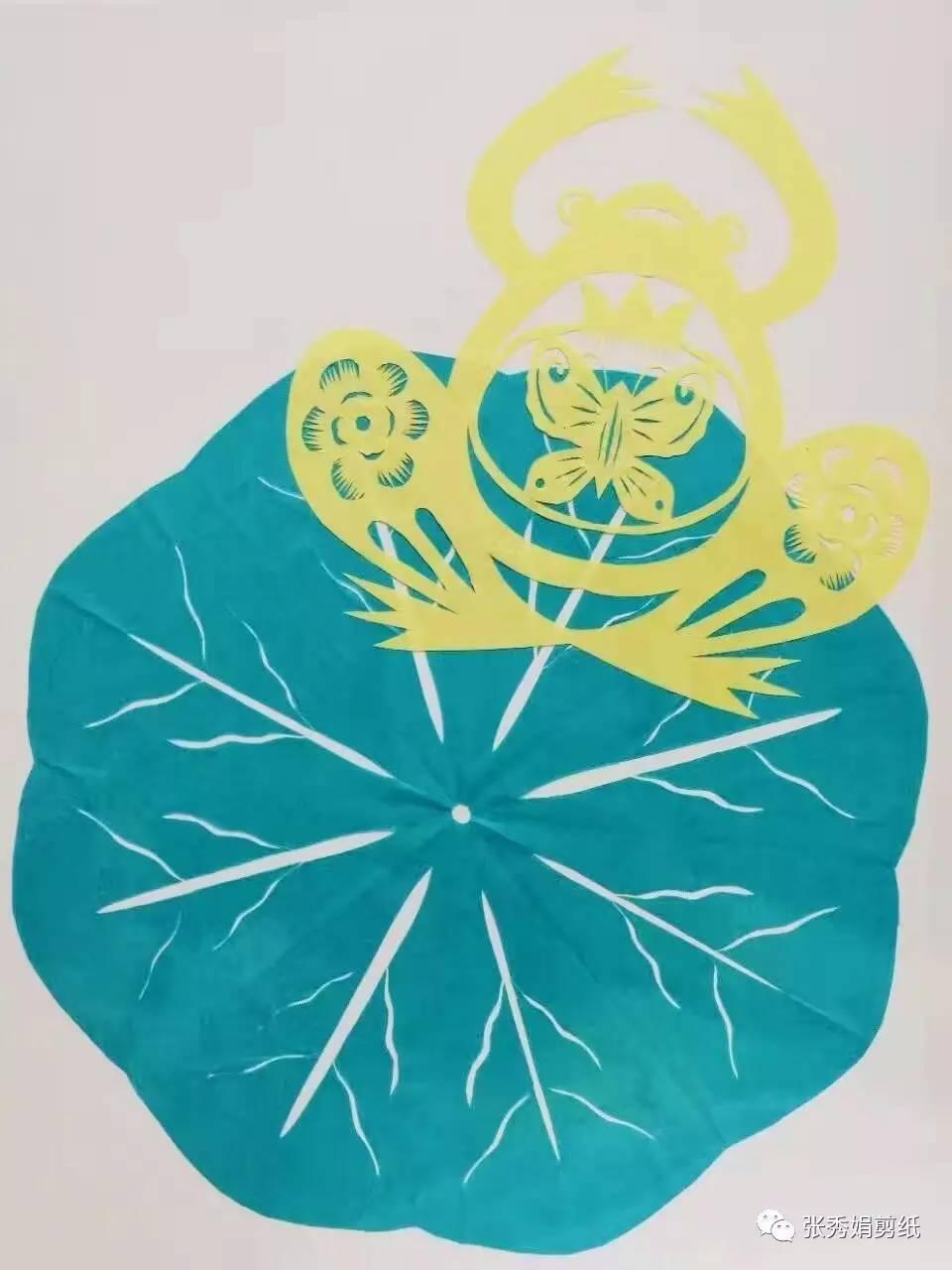 幼儿中班剪纸手工图片