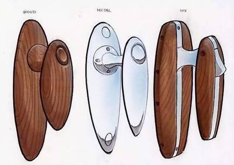 时尚 正文  在进行木质产品的设计表现时,应画出原木表皮的粗糙感.图片