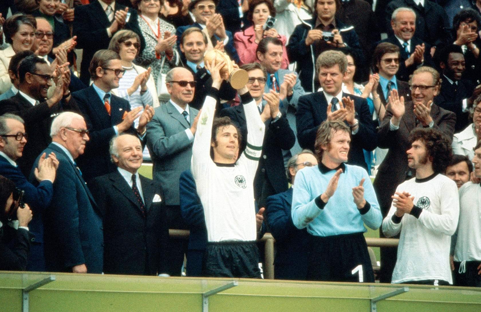 1974年西德夺冠.