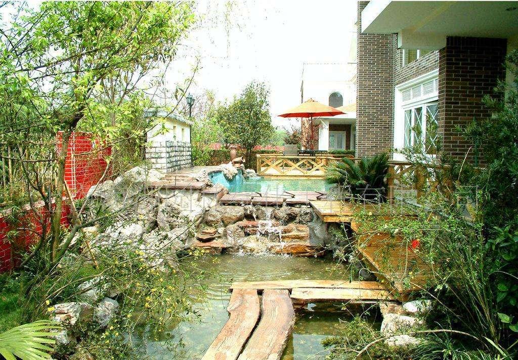 嘉禾田:别墅庭院景观水体设计用途图片
