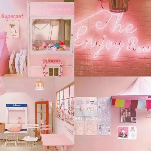 网红都爱拍照竞赛的这些咖啡馆,公益心爆棚!少女海报设计打卡图片